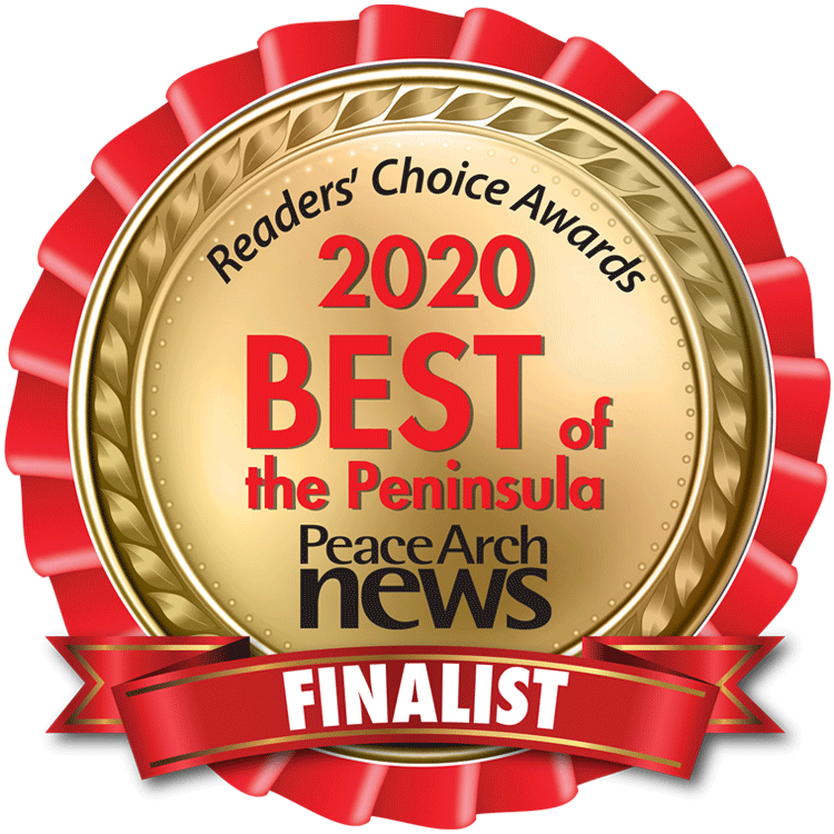 Reader's choice awards 2020 best of the peninsula badge