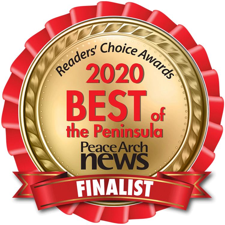 Reader's choice awards 2020 best of the peninsula badge